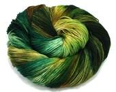Gorge- Handpainted Yarn- Dye to Order, Sock, Fingering, Sport, Bulky