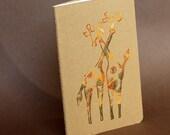 Giraffe Hug Pocket Moleskine Cahier Notebook
