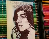 Mermaid - Original Sketch