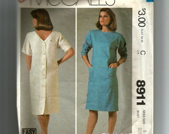 McCall's Misses' Dress Pattern 8911
