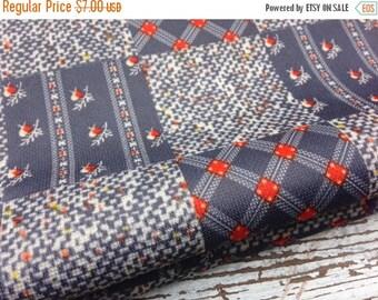 40% FLASH SALE- Vintage Retro Polyester-Silky-Patchwork Design