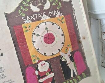 BUCILLA 1894 Kit / Jeweled Christmas Mail Bag / Crafting