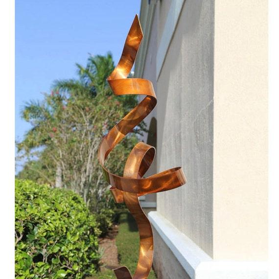 Sculpture jardin metal for Statue moderne jardin