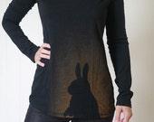 CUSTOM ORDER Long-sleeved Sneaky Rabbit