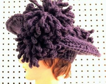 Crochet Pattern Hat, Crochet Hat Pattern, Womens Hat, Crochet Flower Pattern for Hat, Kentucky DERBY Hat, Wide Brim Hat Floppy Hat