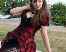 Victorian Vixen - Vampire Masquerade Ball Gown