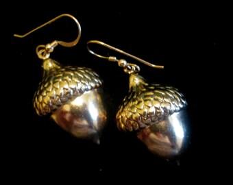 Sometimes You Feel Like a Nut - Acorn Earrings