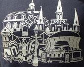 New Orleans Cityscape - Unisex T-Shirt