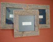 Three 6x6 Barnwood Frames