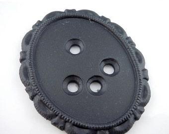 50% OFF 40mm Plastic Victorian Setting Matte Black (G - 310)