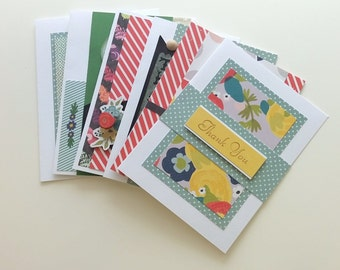 Handmade Card Sale / ONLY 2 SETS LEFT / 10 cards for 20 / Full size no duplicates