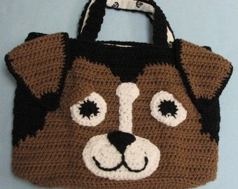 Beagle Tote Crochet Pattern To Download