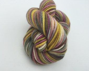Cashmere Yarn, Aran weight, Wheat and Rose