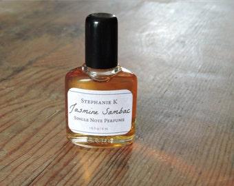 Jasmine Sambac Perfume Oil - Single note fragrance - all natural perfume