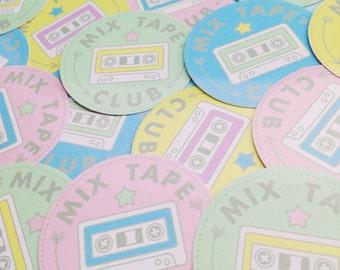 Mix Tape Club Pastel Sticker Set