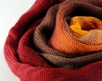 Hand Dyed Gradient Sock Yarn - Desert Rose