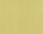 Farmhouse - Polka Dotties in Meadow: sku 20257-17 cotton quilting fabric by Fig Tree and Co for Moda Fabrics - 1 yard