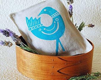 Organic Lavender Sachet -Mod Bird