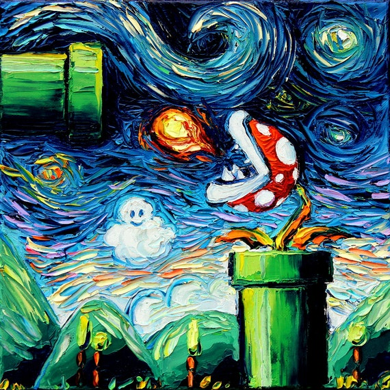the starry night painting review essay