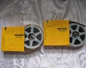 16mm Found Footage - Two Rolls Vintage Film Material