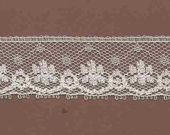 20 Yards of Vintage Delicate Ivory Lace