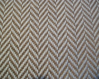 Holland and Sherry - Villarrica - 1 1/4 Yard Blue Grey Wool Herringbone Fabric
