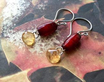 Autumn Embers Earrings