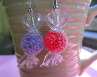 Sugary Gumdrop Candy Earrings
