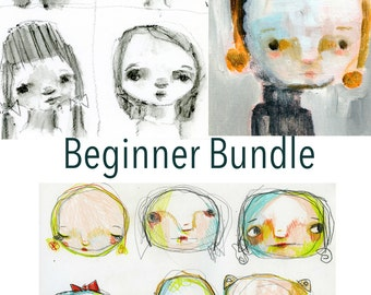 Beginner Bundle online workshops - by Mindy Lacefield
