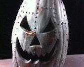 Steampunkin Steampunk Metal Pumpkin Halloween  Pumpkin Sculpture1