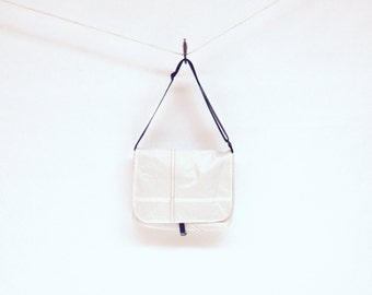 Recycled Sail Cloth  Messenger Bag
