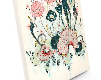 Canvas Print, Wall Art, Abstract Canvas Print, Giclee Canvas Print, Original Artwork, Charm