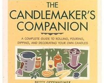 Candlemaker's Companion Book Excellent Condition DIY Arts and Crafts How To Illustrations