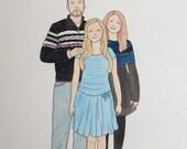 Custom Family Portrait (8x10)