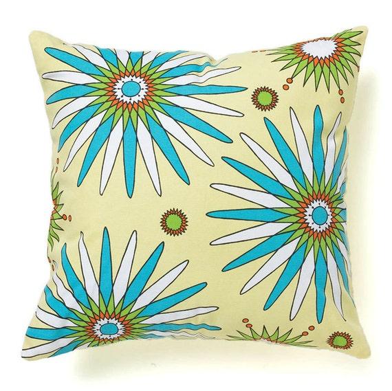 Modern Pillow Cover 18x18 - Flowerburst Spring
