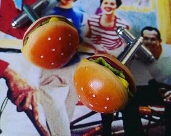 Lipsmackers............. Cheeseburger Cufflinks