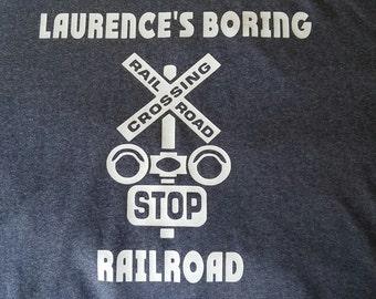 Personalized Railroad Shirt