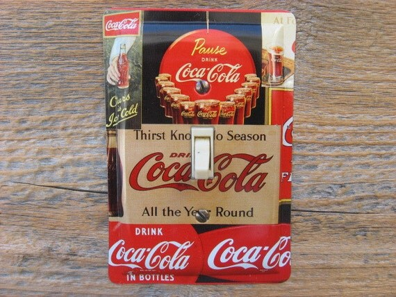 Https Www Etsy Com Listing 178632931 Coca Coke Cola Kitchen Wall Decor Unique