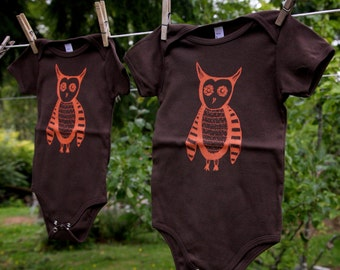 Owl Tell You Whoo Knows Infant Onesie