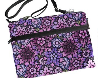 Laptop 13 inch Bag MacBook Air 13 inch sleeve / MacBook Pro 13 inch Case / Cover Padded FAST SHIPPING/Washable Passion Purple Fabric