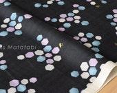 Japanese Fabric Kokka Trefle honeycomb double gauze - D - 50cm