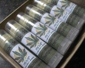 "12 ""Hemp"" (GoddessNaturals) Lip Balm (comes w/display box) 0.15 oz tubes"