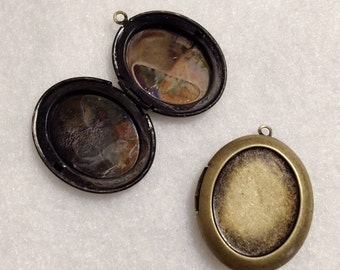 OVAL Frame LOCKET DIY 30x25mm - Code 148