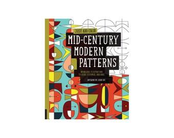 SALE Mid-Century Modern Patterns