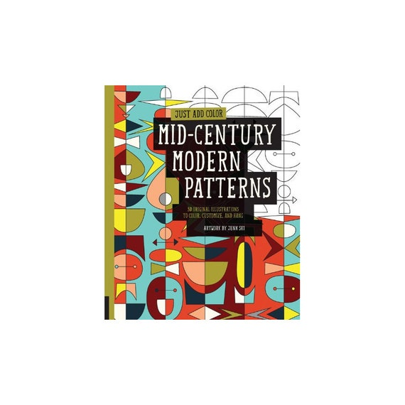 Sale mid century modern patterns - Mid century modern patterns ...