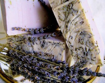 Lavender Bud All Natural Handmade Soap. Original patented recipe