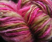 PALACE GARDEN Handspun Wool Yarn Fleecespun Coopworth 175yds 6.5oz 8wpi aspenmoonarts knitting art yarn