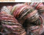 Almost SPRING CLEARANCE ARIZONA Butte Handspun Wool Yarn Fleecespun Coopworth 127yds 3.75oz 8wpi aspenmoonarts knitting art yarn