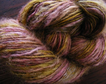 VINEYARD Handspun Wool Yarn Fleecespun Coopworth 264yds 5.5oz 8-9wpi aspenmoonarts knitting art yarn
