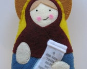 Saint Rachel the Matriarch Felt Saint Softie